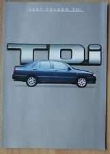 rare Catalogue nouvelle Seat Toledo TDi - France 1995 -6p