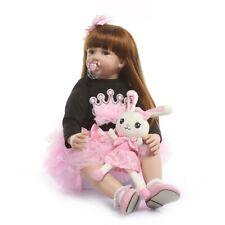 24'' Toddler Reborn Girls Doll Gift Newborn Baby Toys Lifelike Princess Dolls