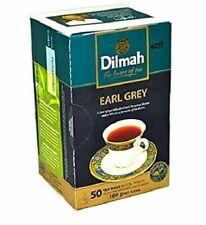 Dilmah Earl Grey Greay Tea 50 Tea Bags boxes Black Ceylon Tea
