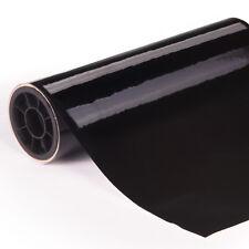 Envoltura de Vinilo Negro Brillante // Todos Los Tamaños // Aire/Burbuja Pegatina Adhesiva Coche Película Gratis
