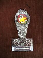 5K run star trophy award clear acrylic full color insert