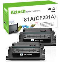 2PK Toner Compatible W/ HP CF281A 81A LaserJet Enterprise MFP M630h M630dn 630z