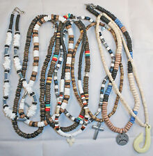 NECKLACES - 5 x assorted Men's styles - 50 cents each
