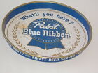 """Vintage  Pabst Blue Ribbon Beer Advertising Tray Sign  SEXY !!  Used tray 12 """""""