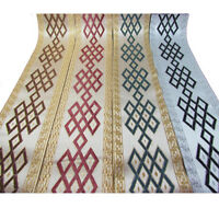 Vintage Embroidery Silk Jacquard Ribbon Braid Trim Fringe DIY Curtain Decor