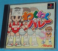 Waku Waku Volley Ball - Sony Playstation - PS1 PSX - JAP Japan