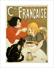 Steinlen - Chocolat - fine art print vintage poster cat wall art various sizes