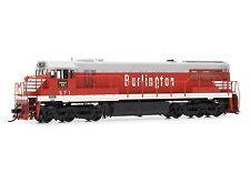 Rivarossi Burlington CB&Q GE U28C #571 DCC ESU LokSound HO Locomotive HR2614
