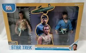 STAR TREK - *New MIB* Mirror Universe Kirk & Spock Mego Marty Abrams Gift Set