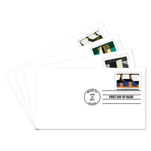 USPS New Emilio Sanchez First Day Cover Set of 4