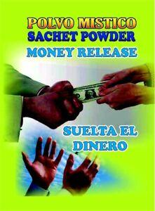 Money Release Powder /Suelta  El Dinero Polvo ½gr / 14 gr