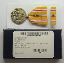 Ww Ii U.S.Asiatic Pacific CampaignMedalSet in Box with 1 Battle Star
