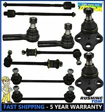 Fits 96-04 Nissan Pathfinder Infiniti Qx4 10 Pc Kit Sway Bar Tie Rod Ball Joint