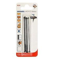 MOTO-SAW 5 x Hoja de sierra madera y plasticos (grandes angulos) DREMEL MS51
