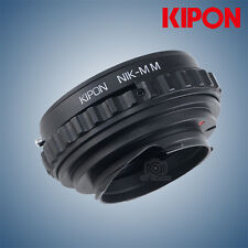 New Kipon Macro Adapter with Helicoid Tube for Nikon F AI Lens to Leica M Camera