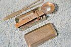 RARE DR. C.H. FITCH'S PRESCRIPTION SCALE PAT 1885 Antique Medical Tool