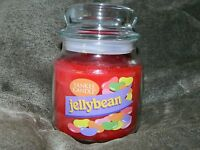 Yankee Candle 14.5 oz Medium Jar Candle - Jelly Bean - Old style Red Retired NEW
