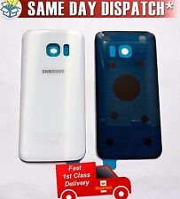 100% Original Samsung Galaxy S7 SM-G930F Battery Cover Rear Back Glass White UK