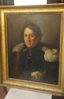 Olio su tela Ritratto Napoleone  Jean-Baptiste Camille Corot
