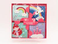 Valentines & Envelopes 16 Classroom Exchange Cards 4 Designs - YOU CHOOSE