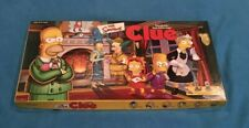 The Simpsons Clue Board Game - Hasbro Games - Complete