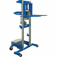 Genie Material Manual Lift with Counterweight Base 11ft8in Lift 350-lb Capacity