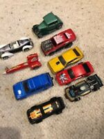Vintage Matchbox and Hot Wheels Cars from the 70s/80s - Lot of 9