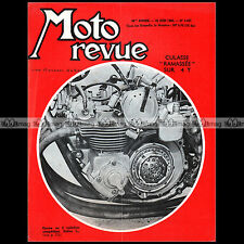 MOTO REVUE N°1497-c ZUNDAPP KS 601 BIANCHI BENELLI 250 TOURIST TROPHY ROUEN 1960