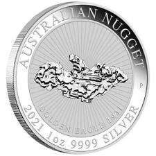 AUSTRALIE 1 Dollar Argent 1 Once Australian Nugget 2021 - Golden Eagle 1931