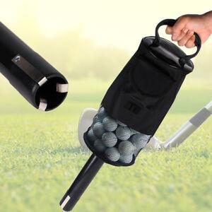 Golf Ball Shag Bag Retrieve Practice Holder 60 Balls Collector Pick Up Bag
