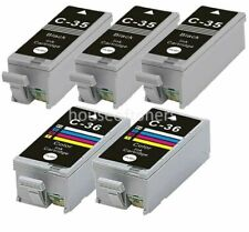 PSX Compatible Ink Cartridge Replacement for Canon CLI-36 C 320 Works with: PIXMA iP100 PIXMA mini260 Color
