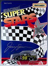 Matchbox Super Stars Racing Chevrolet Lumina Jimmy Spencer #98 Moly Black Gold
