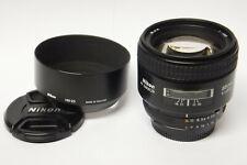 Nikon AF Nikkor 1,8 / 85 mm D Objektiv gebraucht  in ovp
