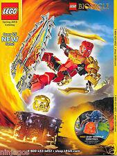 LEGO Spring 2015 CATALOG Magazine Star Wars Bionicle Marvel Minecraft Friends