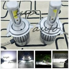 NEW H4 9003 6000K White 8000LM CREE LED Headlight Bulbs Kit High & Low Beam