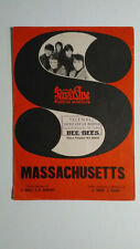 BEE GEES MASSACHUSETTS SHEET MUSIC ITALY ORIGINAL 1968