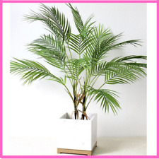 Green Plant Artificial Palm Leaf Plastic Garden Home Decorations Tropical Tree