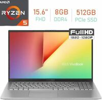 "🔥2020 ASUS VivoBook 15.6"" FHD AMD Ryzen5/8GB/512GB SSD/Radeon Vega8 Laptop 🔥"