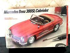 """1/24 Testors Italeri Mercedes Benz 300 SL Cabriolet Sports Car # 229 Kit """"1989"""""""
