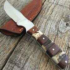 STEEL STAG Genuine Deer Stag Skinner Hunting Knife NEW W/ Leather Sheath P
