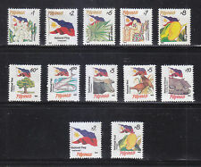 Philippines Stamps 1993 MNH National Symbols 10v + 2 scarce Reprints
