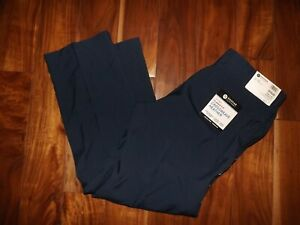 HAGGAR Blue Crossweave Heather Classic Fit Pants NWT Mens Size 34 X 30