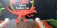 Jurassic Park Velociraptor Hasbro Dinosaur Prototype RED