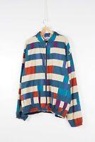 Missoni Uomo Mens Vintage Colorblock Multicolor Jacket XL Italy made Rare