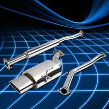 "5.75""OVAL MUFFLER TIP RACING CATBACK EXHAUST SYSTEM FOR 02-06 ALTIMA 2.5 QR25DE"