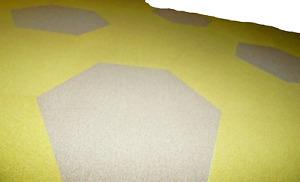 30 Pcs Carpet Tile 25'' x 25'' Total 120 S/F  Hexagonal  Coordinate Its Design .