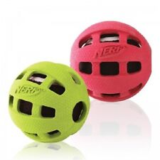 """Nerf Dog RUBBER ENCASED TENNIS BALL Dog Toy 3.5"""" COLORS VARY"""