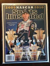 JIMMIE JOHNSON Signed Autographed Sports Illustrated  Magazine SI NASCAR Special