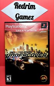 NFS Undercover PS2 Video Games