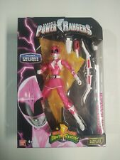 Power Rangers Metallic Pink Ranger Legacy Collection w/ Exclusive Weapons